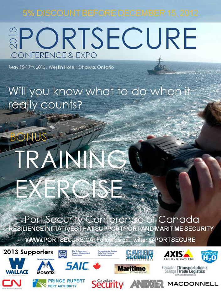 2013 PORTSECURE Conference & Expo