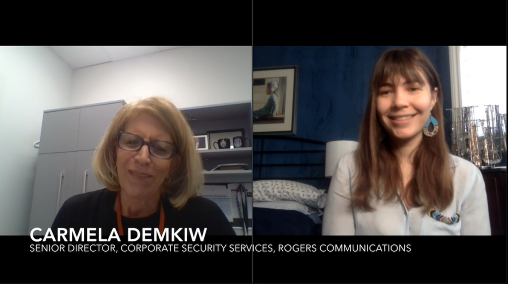 VIDEO: On the Clock: Carmela Demkiw, Rogers Communications